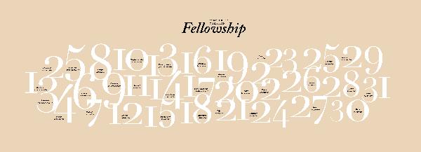 31 Commands of Christian Fellowship Poster